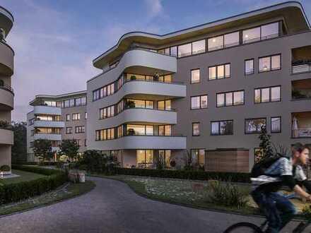 Elegante 3-Zimmer-Wohnung mit separater Ankleide und Loggia in Riedberg-Westflügel