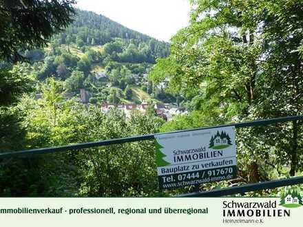 Bauplatz in Süd-Aussichtslage im Schwarzwald zu verkaufen