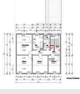 Erstbezug nach Sanierung! Stilvolle große Stadtwohnung mit Wohnküche und attraktivem Dachstudio!
