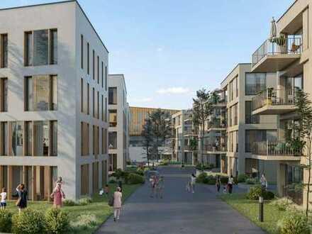 Innovatives Studio mit Balkon und Dachterrasse in zentraler Lage