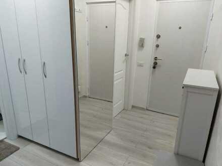 Modernisierte 2-Zimmer-Wohnung mit Balkon und Einbauküche in Mössingen