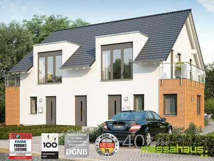 Bauen Sie dieses tolle Doppelhaus mit Massa Haus