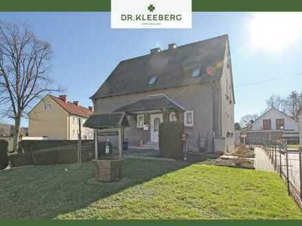 PROVISIONSFREI für Käufer – Zweifamilienhaus mit Baugrundstück in ruhiger Wohnlage von Werne