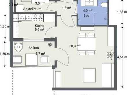 Erstbezug nach Sanierung: attraktive 1,5-Zimmer-Wohnung mit Balkon in Balingen