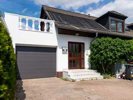 Wohnen wie im eigenen Haus mit 18qm Sonnenterrasse, EBK, Tageslichtbad in Hattersheim am Main