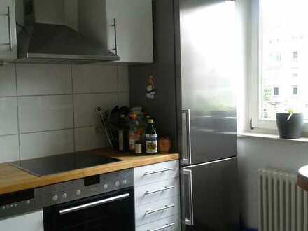 Exklusive, gepflegte 3,5-Zimmer-Wohnung mit Balkon und EBK in Karlsruhe