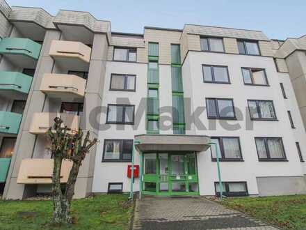 Universitätsnah: Bewohntes 1-Zi.-Apartment mit Balkon in gut angebundener Lage