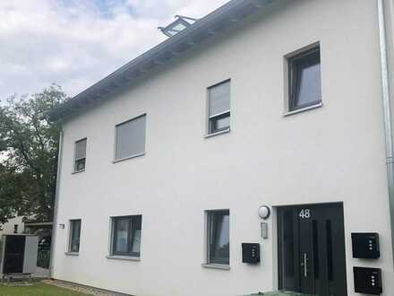 3,5-Zimmer-Wohnung im Energieeffizienzhaus mit Balkon und EBK in gewachsener Wohngegend