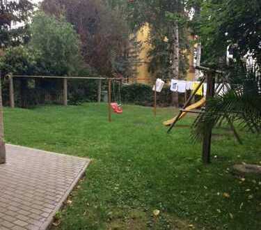 Familien aufgepasst! komfortable 3-Raum-Wohnung mit Gartenanteil