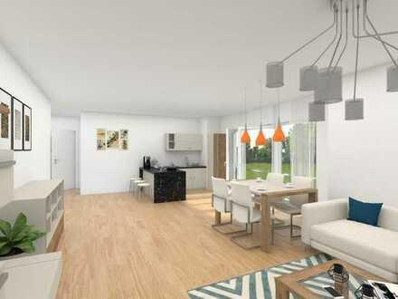 DG - Moderne und zeitgemäße 3-Zimmer-Neubau-Wohnung mit Balkon in Graben-Neudorf!