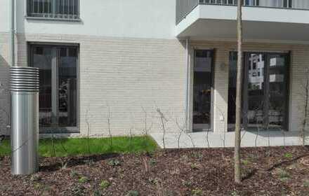 Neuwertige EG-Wohnung mit EBK, teilmöbliert, Terasse und TG-Stellplatz in Ossendorf, Köln