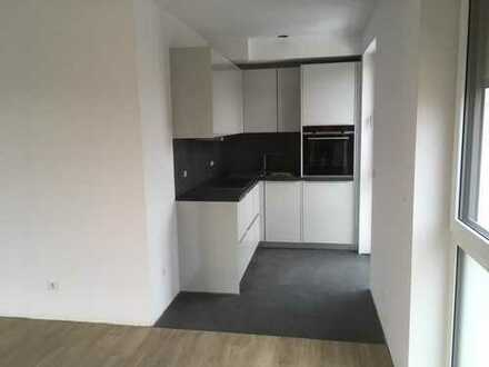 Erstbezug mit Einbauküche und Balkon: stilvolle 3-Zimmer-Wohnung in Bad Bramstedt