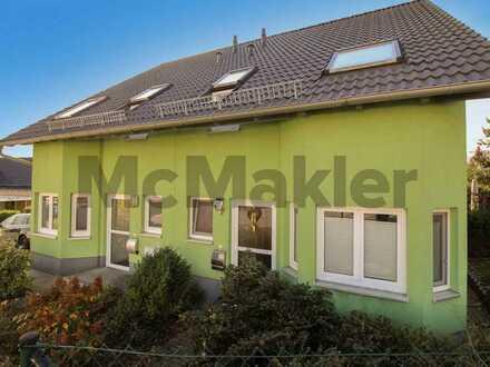 Gepflegter Wohncharakter in Chemnitz-Glösa: 2 DHH mit Garten und West-Terrasse