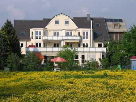 Individuelles Wohnen am Rhein; 4 Zi-Wohnung-Dachgeschoss-Maisonette mit Klimaanlage