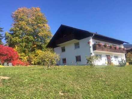 3,5 Zi-Wohnung in freist. Zweifamilienhaus Bay.Wald, großer Garten, traumhafter Blick Gr. Arber