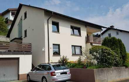 !!!Wird saniert!!! Schöne 4-Zimmer-EG-Wohnung mit Balkon und Panoramablick in Weinheim-Lützelsachsen