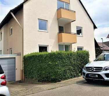 Gerlingen + Kernsanierte Doppelhaushälfte + Garage + in ruhiger & zentraler Lage + sofort beziehbar