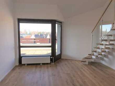 Exklusive 3-Zimmer-Penthouse-Wohnung mit großer Terrasse in Augsburg-Göggingen