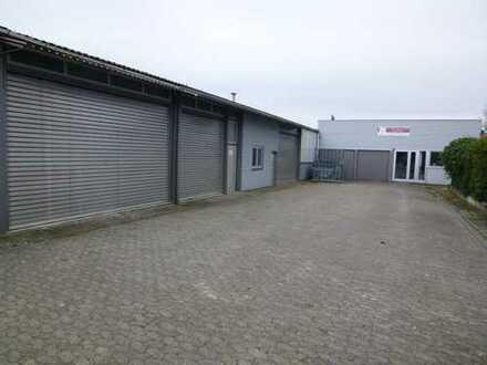Werkhalle für Lager und Produktion