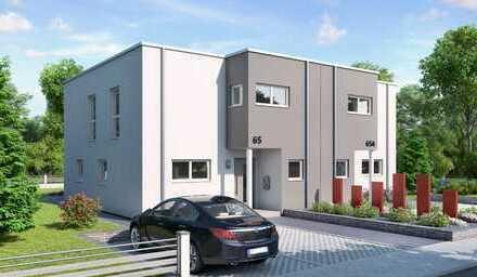 DHH - Bauen auf Grundstück neben Weingärten - ELTVILLE am Rhein - 6 Min. zur A66