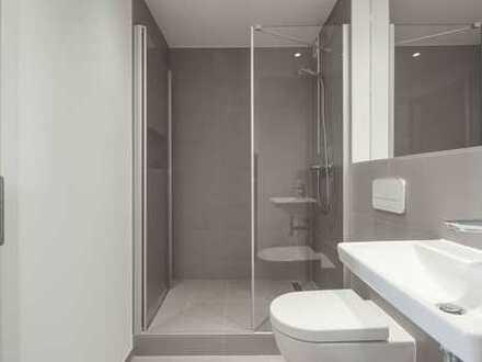 umfassend modernisierte Wohnung mit Einbauküche, Balkon und Waschtrockner