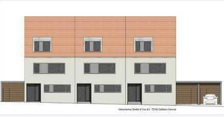 Erstbezug: ansprechendes 6-Zimmer-Reihenhaus mit Einbauküche in Ostfildern-Kemnat