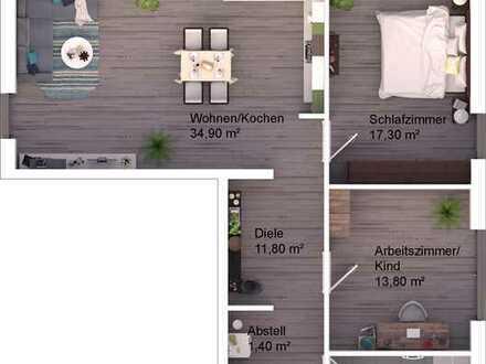 """""""Bella Vista"""" 3-Zimmer Wohnung Nr. 17"""