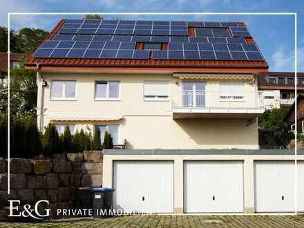 Nahe Landschaftsschutzgebiet: Familienfreundliche Doppelhaushälfte in Esslingen-Serach