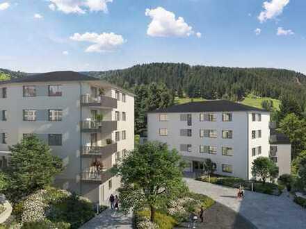 Schöne 2-Zimmer-Wohnung mit Abstellraum und Terrasse
