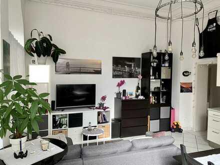 Stilvolle Zwei-Zimmer-Wohnung mitten in der Heidelberger Altstadt