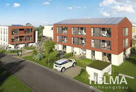 Zwischen Natur und Großstadt: Zeitgemäße 3-Zimmer-ETW mit zwei Dachterrassen und einer Loggia