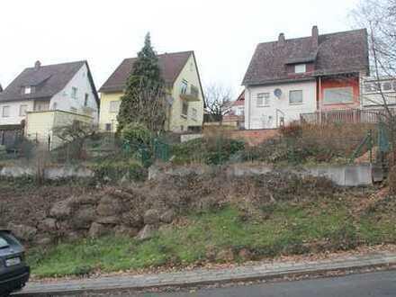 KL- Erlenbach, Baugrundstück von 261 qm, Hanglage, kurzfristig bebaubar