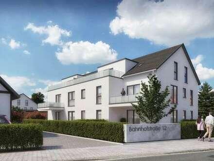 Erstbezug nach Neubau! - Moderne Dreizimmerwohnung mit Balkon