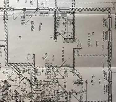Gepflegte 3-Zimmer-EG-Wohnung mit Balkon und Einbauküche in Rastede