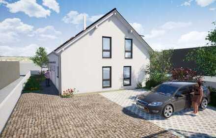 *DIREKT VOM BAUTRÄGER* moderne Neubau Doppelhaushälfte mit kleinem Garten in Griesheim!
