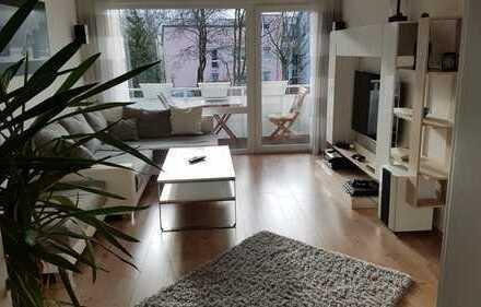 ***von PRIVAT*** sanierte 3-Zimmer-Wohnung mit Balkon und EBK in Duisburg Süd