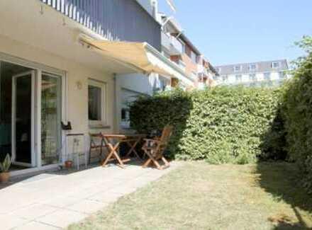 E&Co. - Nahe BMW ruhige und gut geschnittene 3 Zimmer-Erdgeschosswohnung mit Süd-Garten