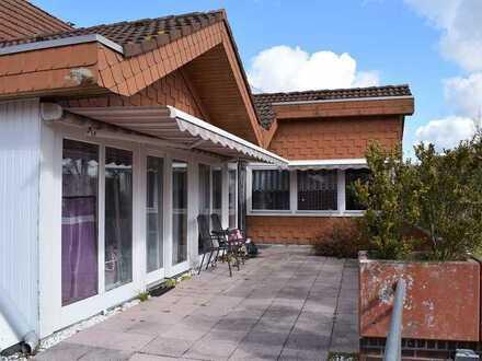 Objekt Nr: 00/688 Oberwohnung mit Dachterrasse im Zentrum von Barßel