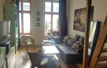 Furnished flat share room for interim rent in Friedrichshain until end of 2020
