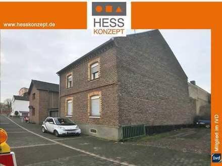 Abrissobjekt/Baugrundstück- GRZ 0,4 - GFZ 0,7, mit Garage und Nebengebäude auf 338qm Süd-/Westgrunds