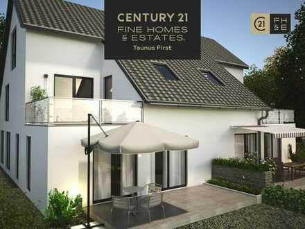 NEUBAUVORHABEN: Exklusive Doppelhaushälte mit ca. 160 m² Wohnfläche, 5 Zimmer, Bad Homburg v.d.H.