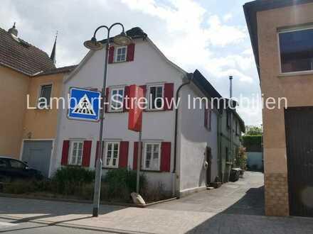 *LAMBERT&STRELOW*Historisches Haus bzw. 3 ZKB - Gartenwhg. in zentraler Lage von Eltville-Erbach