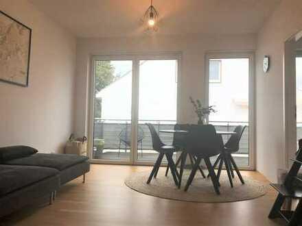 Modernes Wohnen mit durchdachten Grundriss und Balkon