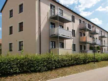 Wiesau: 2-Zimmer-Wohnung mit gemütlichem Balkon