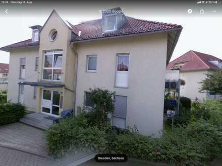 Stilvolle, gepflegte 2-Zimmer-Terrassenwohnung in Dresden