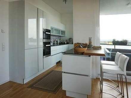 Hochwertige Wohnung mit toller Aussicht