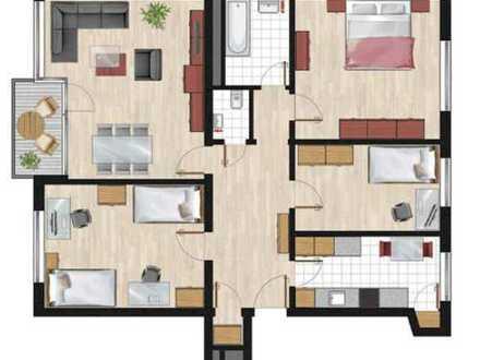 1.100 €, 92 m², 4 Zimmer