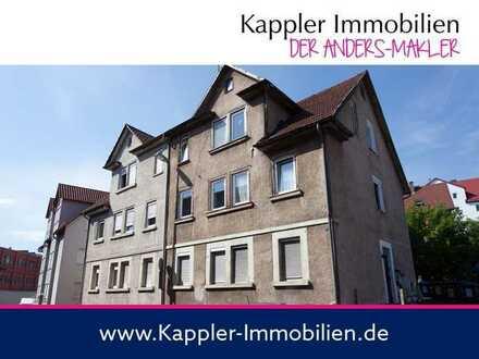Zentrales Grundstück für MFH mit ca. 500 m² Wohnfläche oder Bestandsgebäude mit guter Rendite