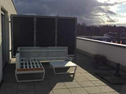 Stilvolle, 3-Zimmer-Loft-Wohnung mit Balkon und EBK in Sindelfingen