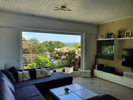 Stilvolle 2,5-Zimmer-Penthouse-Wohnung im Briller Viertel mit großer Terrasse, Schwimmbad und Sauna